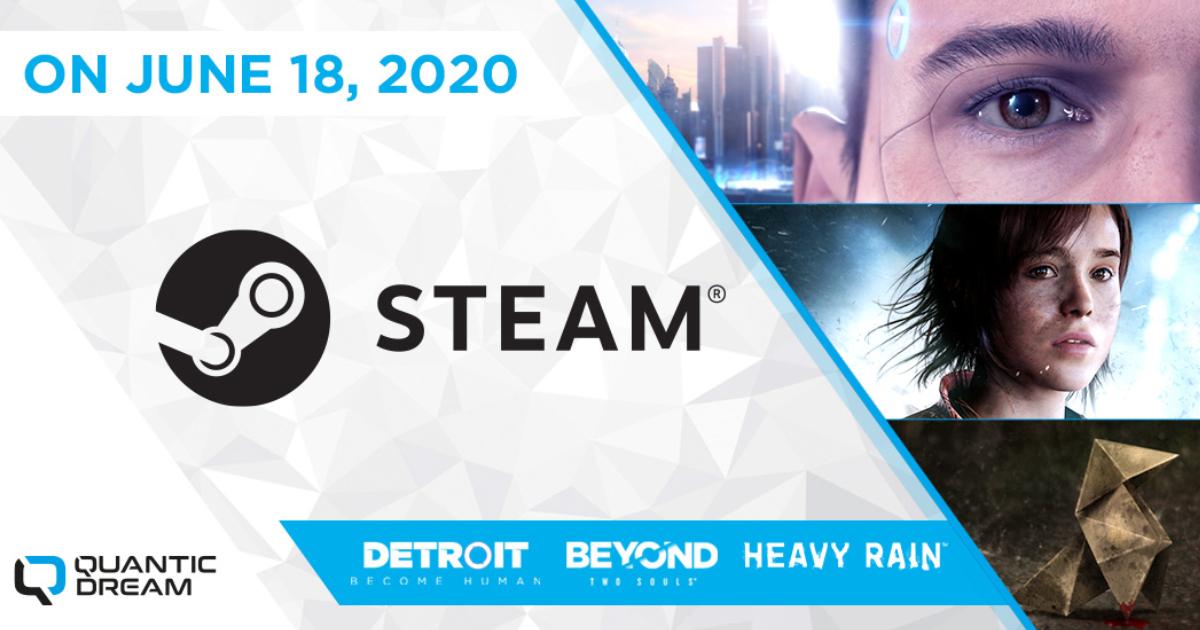 「Detroit: Become Human」を含むQuantic Dream3作品がついにSteamに登場!デモ版も配信開始!