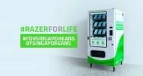 新型コロナウイルス対策でRazerがマスクを無料配布!Razer Payを使って自販機で受け取れる! #RazerForLife
