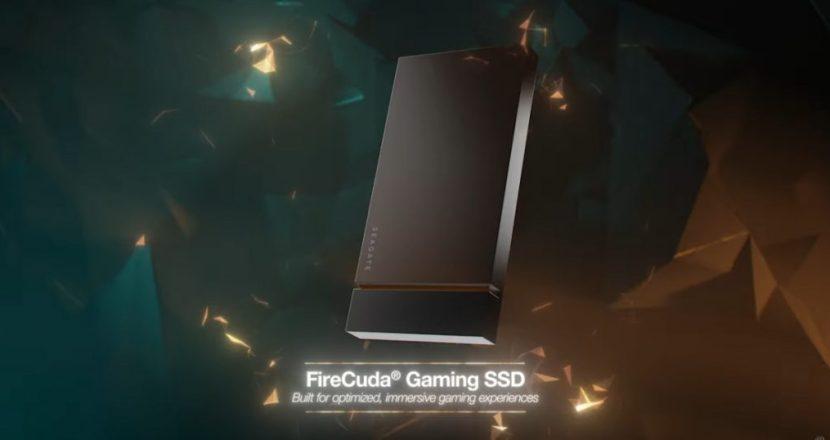 SeagateよりゲーミングSSD「FireCuda Gaming SSD」が登場
