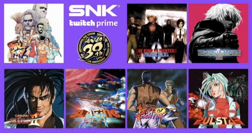 Twitch PrimeでSNK名作ゲームを期間限定無料提供!龍虎の拳2がある!