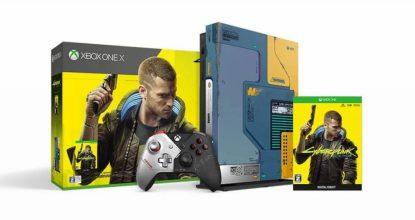 Xbox One X《電馭叛客 2077》限量版同捆將於 2020年6月上市!