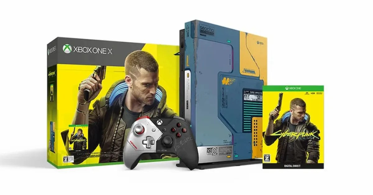 Xbox One Xに「サイバーパンク2077」デザインが登場!しかしすでに品薄…