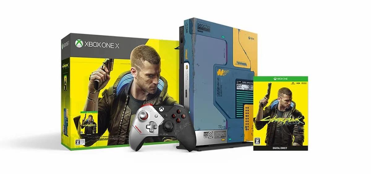 「Xbox One X サイバーパンク2077 リミテッド エディション
