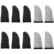 AksBlay - 指サック スマホゲーム 操作性アップ 抜群なタッチ感 快適性 手汗&指紋&静電防止 洗濯可能&耐摩耗