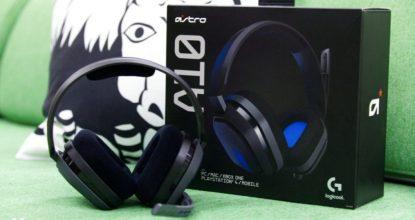 搭載勿擾模式功能的頭戴式耳機套組「Astro A10」讓在家工作時的你更加舒適!