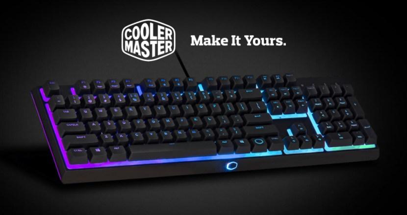 独自ハイブリッド方式のスイッチを採用したゲーミングキーボードCooler Master「MK110」登場
