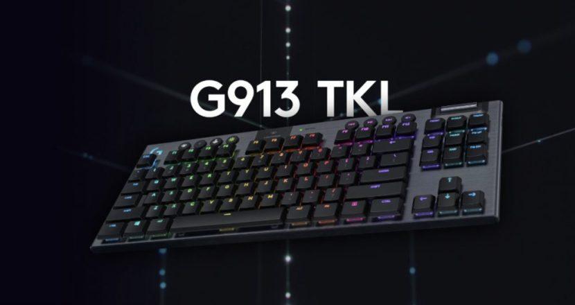 ロジクールからテンキーレス薄型ハイエンドキーボード「G913-TKL」が6月25日に発売!