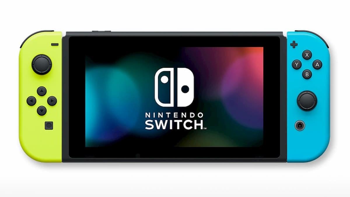 『Nintendo Switch』(Joy-Con(L)レッド/(R)ブルー+ストラップ ブラック2本)