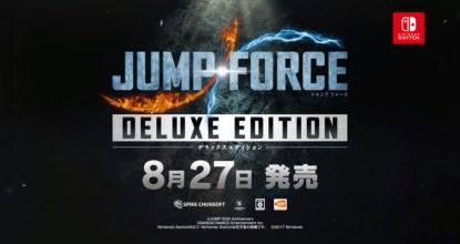 Nintendo Switch版「JUMP FORCE デラックスエディション」が2020年8月27日に発売決定!