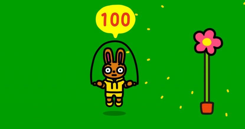 縄を使わずにJoy-Conでなわとび!Nintendo Switch「ジャンプロープ チャレンジ」が期間限定無料配布!