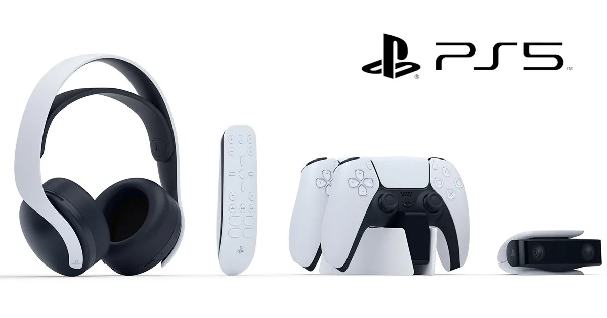 PlayStation 5周邊大公開!從耳機到遙控器一應俱全!