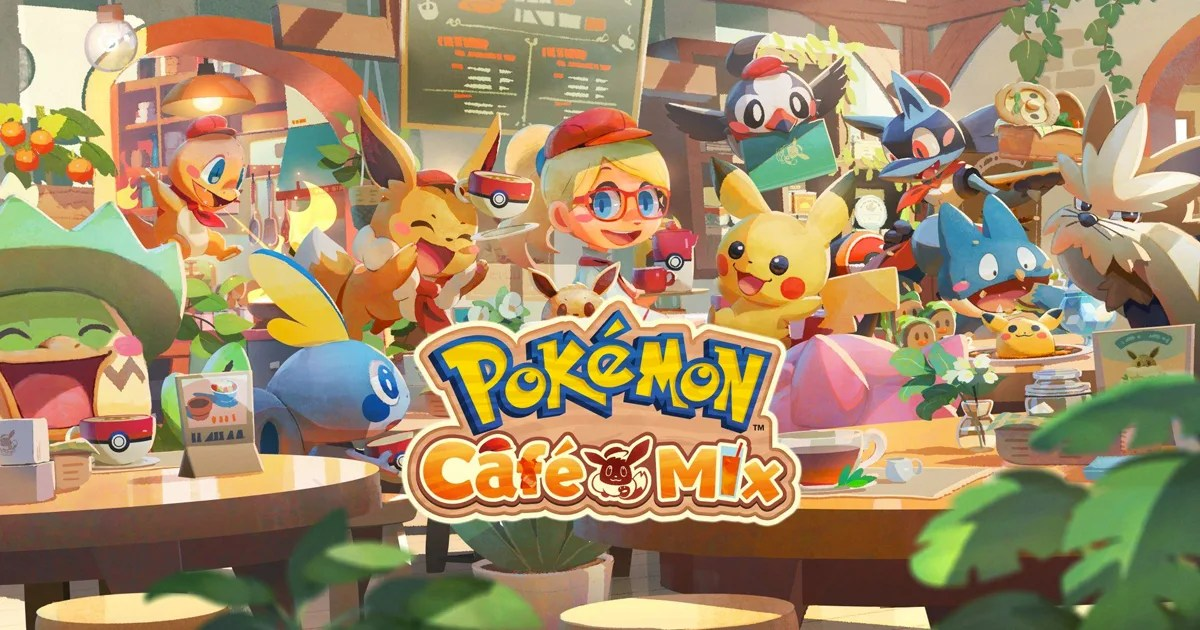 益智遊戲「Pokémon Café Mix」即將在Nintendo Switch、手機上登場!開放事前登錄中
