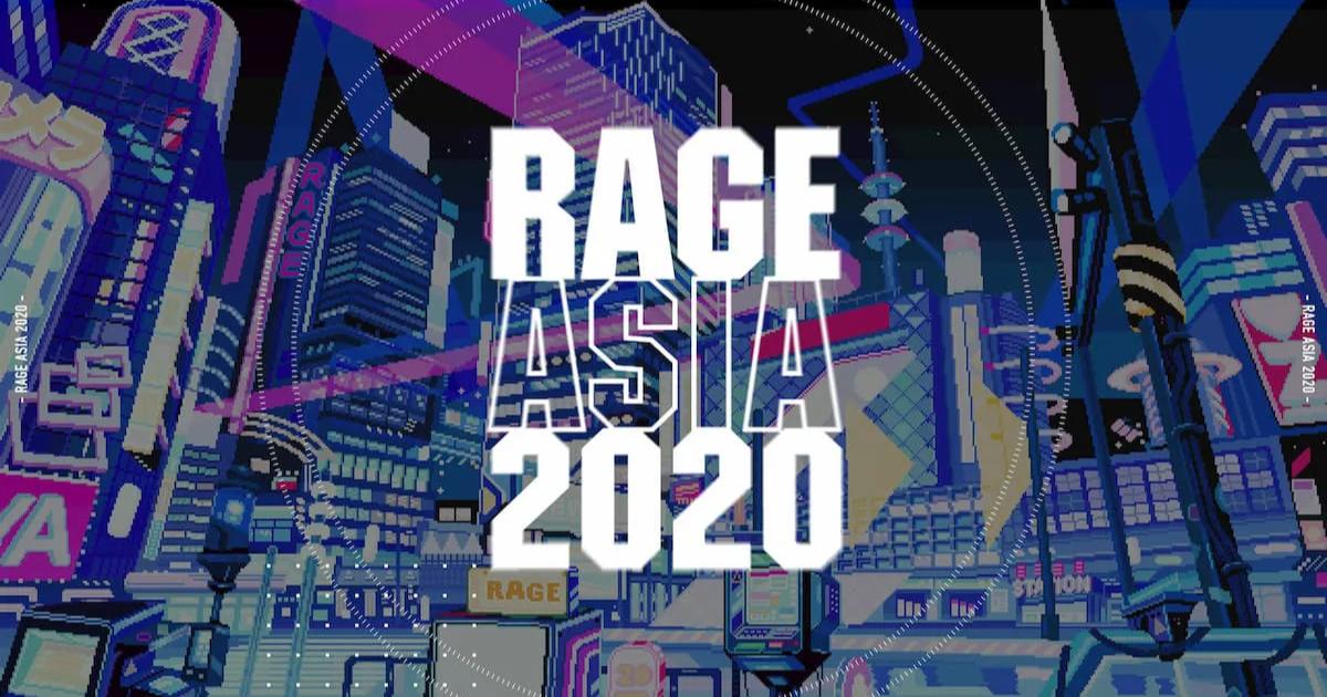 「RAGE ASIA 2020」開催決定!ゲームタイトルはApexと荒野行動!