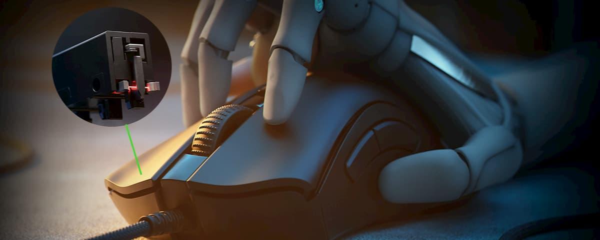 Razer光學滑鼠按鍵軸