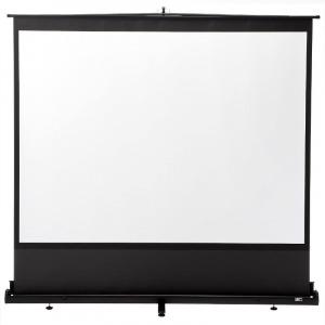 サンワダイレクト プロジェクタースクリーン 100インチ 自立式床置き型 携帯型ロールスクリーン 100-PRS009