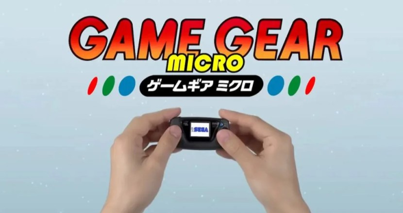 祝セガ60周年!伝説の携帯ゲーム機のミニ版「ゲームギアミクロ」発表!