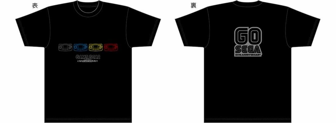 ゲームギアミクロ・GO SEGAオリジナルTシャツ