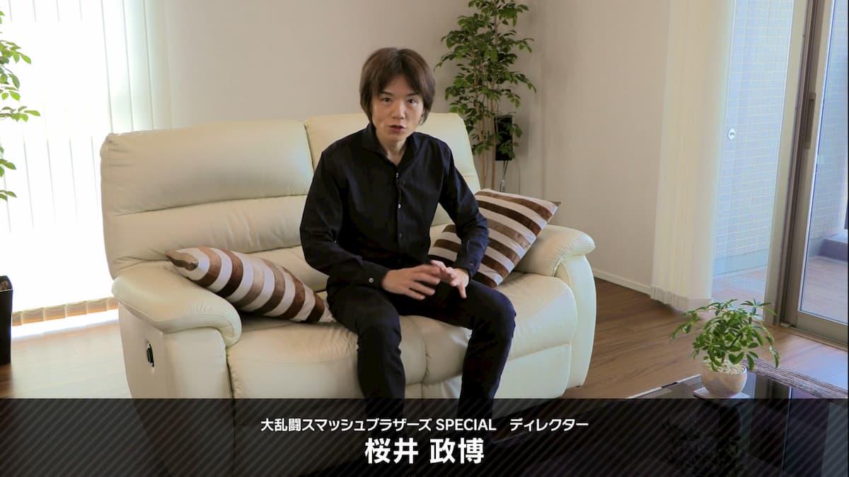 大乱闘スマッシュブラザーズ SPECIAL ディレクター 桜井政博さん
