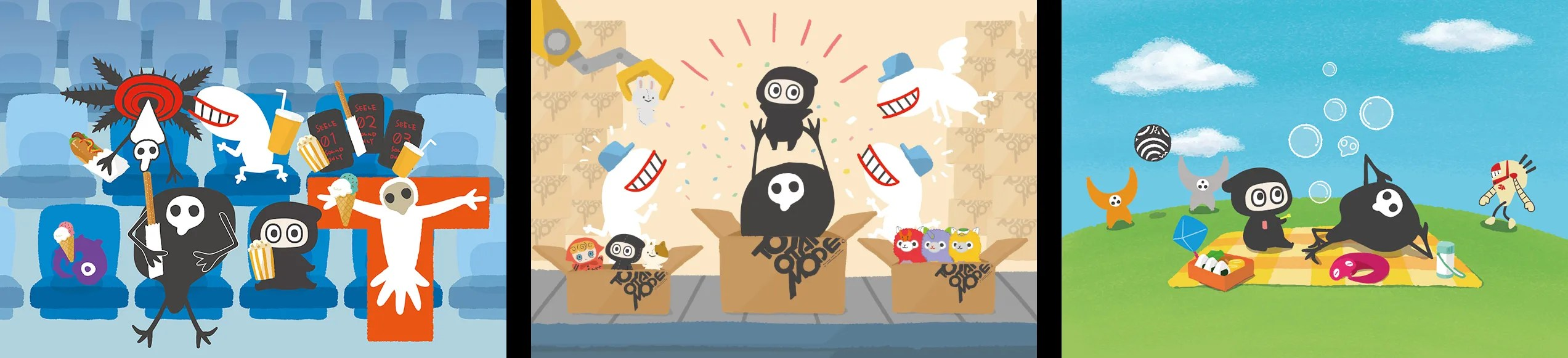 「ゆるしと」とTOMマスコット「Ninja-kun」コラボ