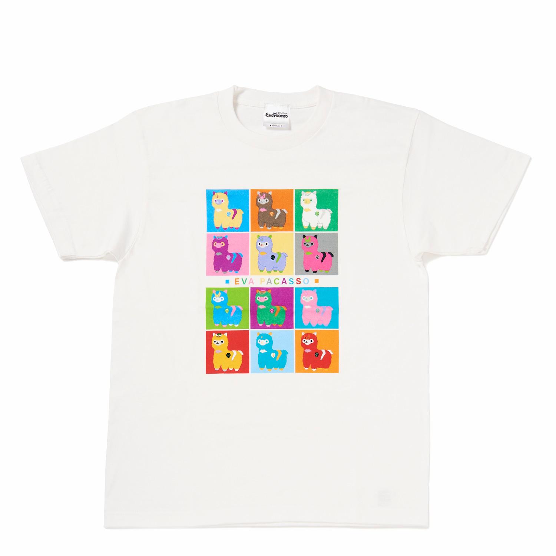 エヴァパカッソTシャツ