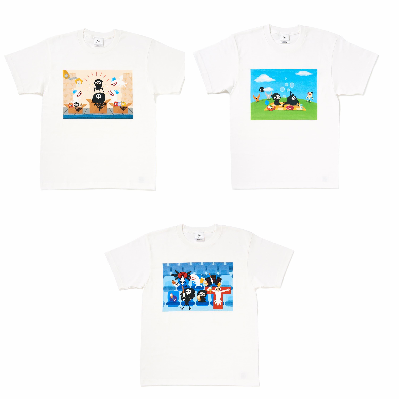ゆるしと × Ninja-kun Tシャツ