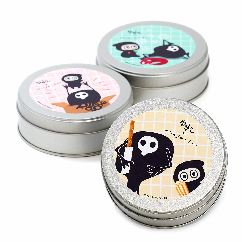 ゆるしと × Ninja-kun 缶入りグミ