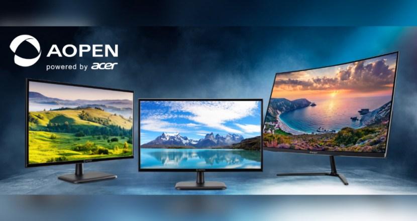 Acer副牌AOPEN推出三款低價格螢幕