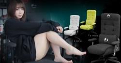 2倍の厚さのふかふかクッションのゲーミングチェア「Bauhutte Gaming Sofa Chair G-350」発表!