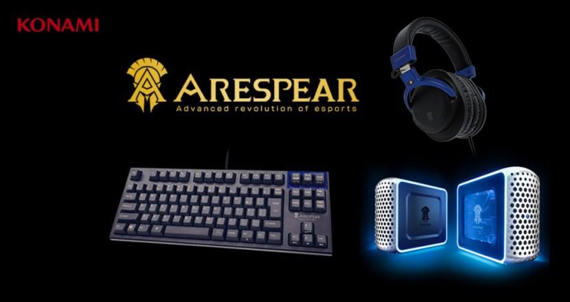 KONAMIのeスポーツデバイス「ARESPEAR」からREALFORCE記述採用のゲーミングキーボード販売開始!