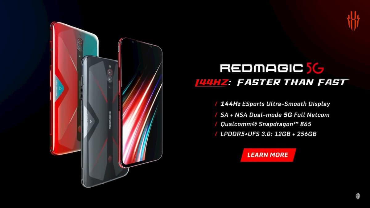 144Hz超高速リフレッシュレートを実現した5Gゲーミングスマートフォン「RedMagic 5」が国内発売