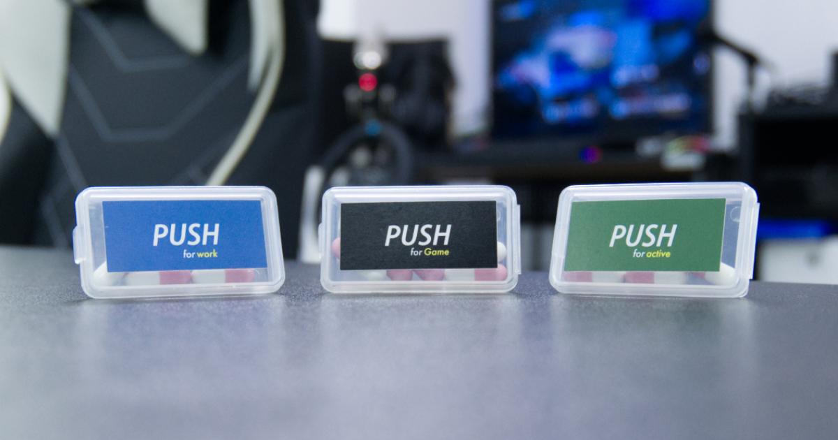 手軽にがっつりエナジー体験!PUSHの新製品をレビュー!