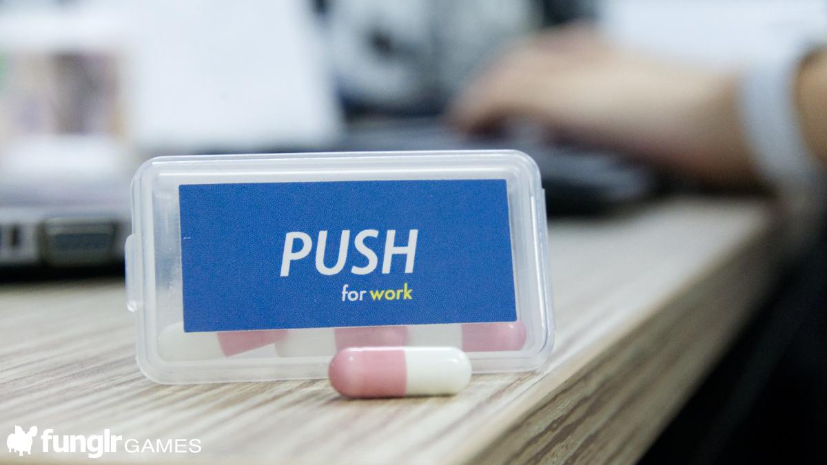 最高のパフォーマンスで定時退社!PUSH for work