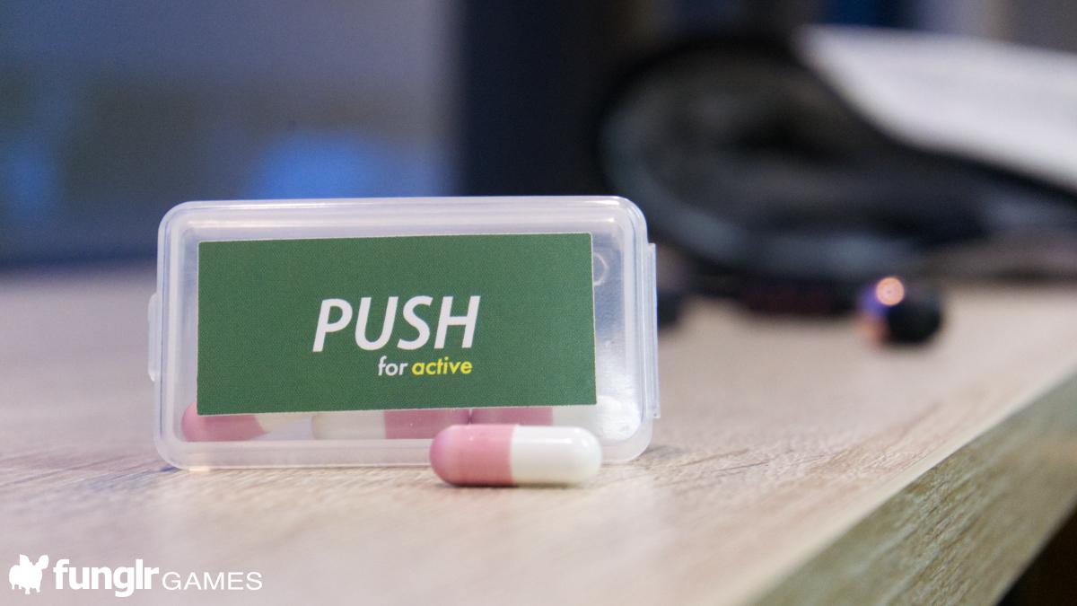 元気だからこそ趣味も楽しめる!PUSH for active