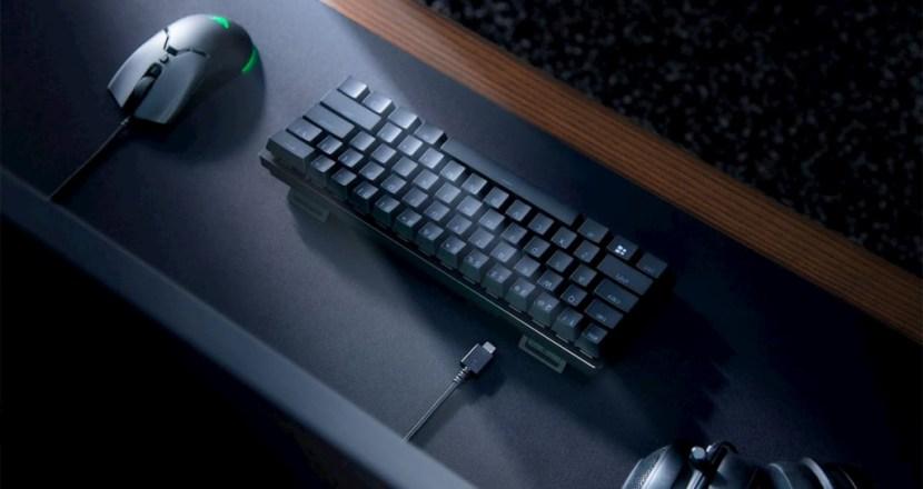 Razerがファンクションキー、テンキーレスで60%小型のゲーミングキーボード「Razer Huntsman Mini」発表