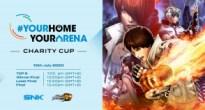 本日20時より「KOF XIVチャリティカップ」開催!SNKがアジアeスポーツ連盟への協賛を発表
