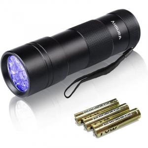 Vansky 12LED 紫外線 ブラックライト UVライト