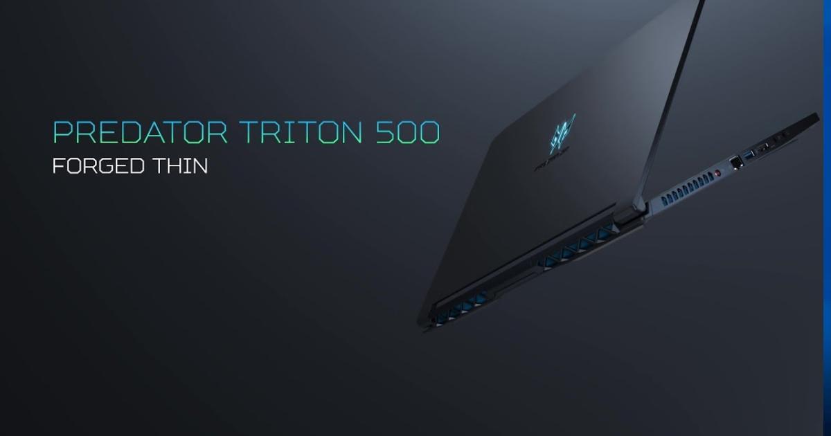 AcerがゲーミングノートPC最速クラスとなるリフレッシュレート300Hz対応の「Predator Triton 500」発表