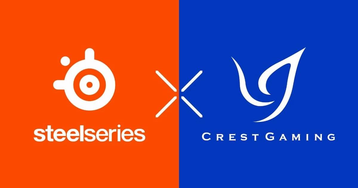 ヒューマンアカデミーのeスポーツチーム「Crest Gaming」が「SteelSeries」とスポンサーシップ契約を締結