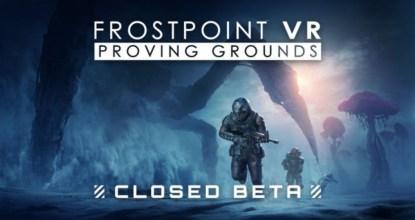 チーム対戦型VR FPS「Frostpoint VR:Proving Grounds」クローズドβテストの一般応募受付が開始!