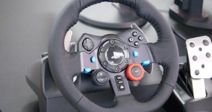 緊緊擄獲跑車迷的心!「羅技 G29 Driving Force 賽車方向盤」開箱評測!