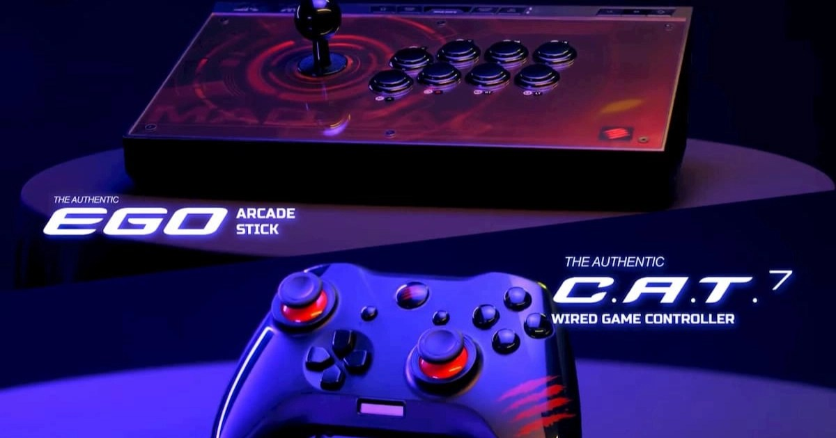 MAD CATZ復活!アケコンとゲームパッドの新作を発表!