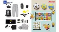 ポケセンがスポーツ用品メーカーの「ミズノ」&「ミカサ」とコラボ!スポーツを楽しむアイテムが多数登場!