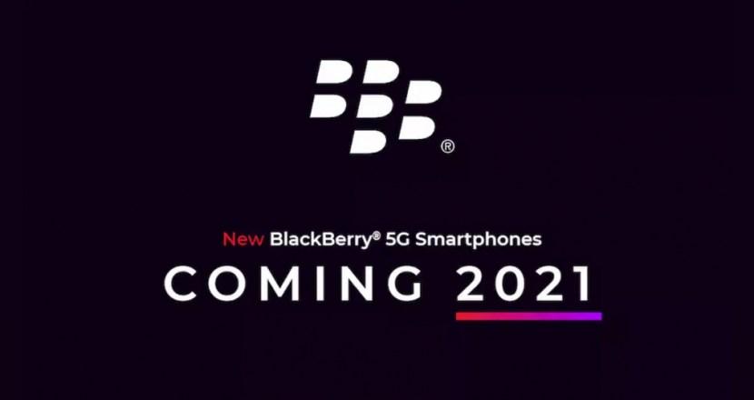 元祖スマートフォン「BlackBerry」が2021年に5Gで復活!しかもOnwardMobilityとFIH Mobileの最強布陣!