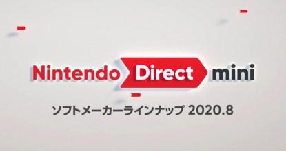 「Nintendo Direct mini Partner Showcase 2020.8」發表內容統整!