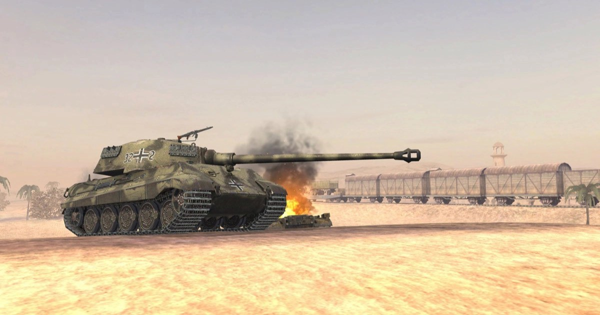 ドイツの重戦車「Tiger II」