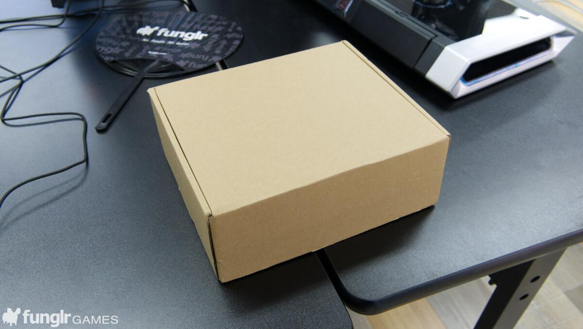 思ったよりも大きい箱で届いた