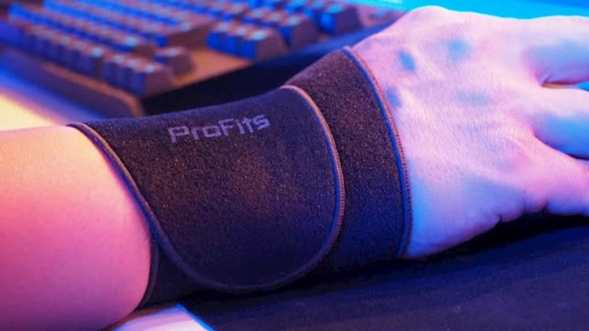 易利氣磁力貼推出史上第一款電競專用「Pro Fits for e-SPORTS 護腕」!