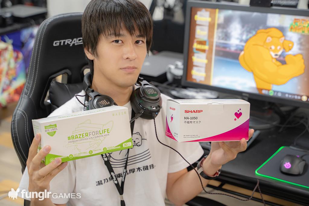Razer vs. SHARP〜開封式編〜
