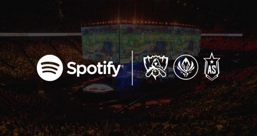SpotifyがRiot Gamesとパートナーシップを締結しLoLのオーディオサービスを独占提供