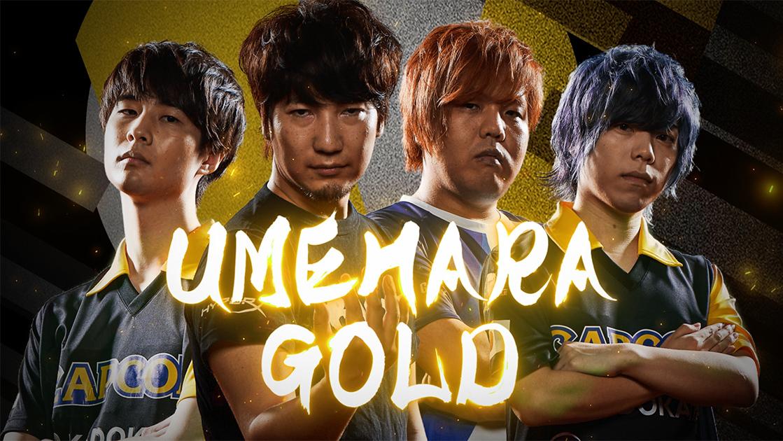 UMEHARA GOLD:ウメハラゴールド